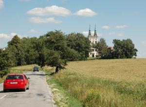 Auf dem Weg durch Tschechien