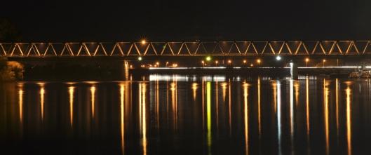 Grenzbrücke Brod - Slavonski Brod