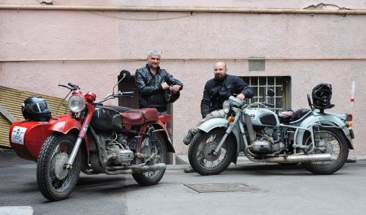 Sandro, Dimitri and the Dneprs