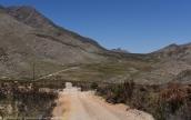 Gamaskloof - Die Hel winding road climbing the mountains