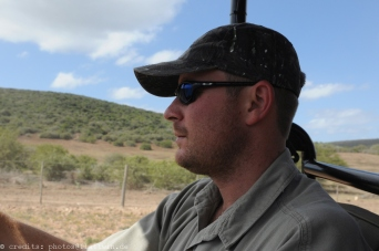 Schotia private game Reserve - Renier our Ranger