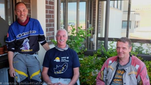 Ralf, Rainer und Burkhard