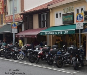 motorcycle parking is 10times cheaper than car parking