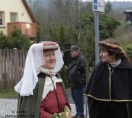 Kaiserweihnacht Oybin - Zug zur Burg