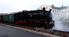 Dampflok der Zitttauer Schmalspurbahn